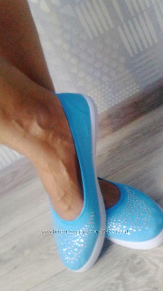Легкие балетки 39 размер