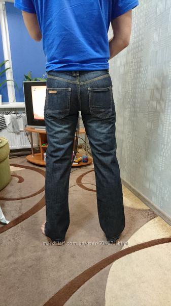 Новые мужские прямые джинсы р36