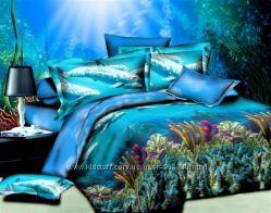Постельный комплект 3d море