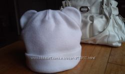 Теплая зимняя шапка с ушками