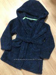 Махровый банный флисовый халат с капюшоном на мальчика 5 лет