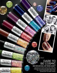 Голографический лак для ногтей REVLON nail art moon candy