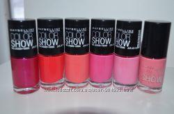 Розпродаж лаків MAYBELLINE color show із США