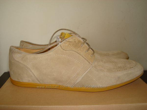 Замшевая туфли мужские