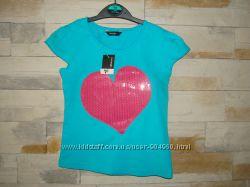 Яркая футболка для девочки George Англия
