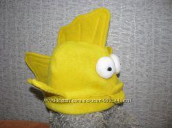 Шапочка Золотая рыбка