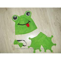 К костюму жабки для утренника