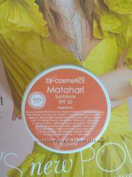 By-cosmetics Бали  Matahari spf 30  натуральный солнцезащитный крем
