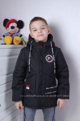 Модная демисезонная куртка на мальчика