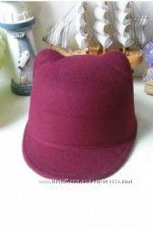 Шляпа - жокейка с ушками