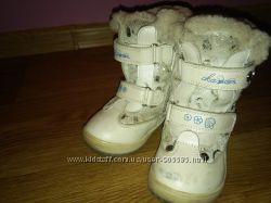 Детские зимние сапожки 22 размер