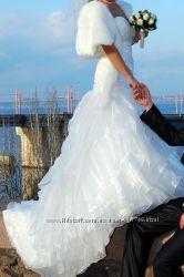 Свадебное платье цвет АЙВОРИ НЕДОРОГО