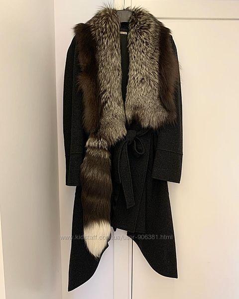 Роскошное пальто Parosh оригинал р. S-M