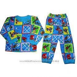 Пижама без пуговиц с начесом
