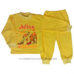 Пижама однотонная Винкс
