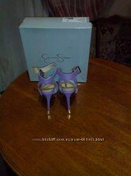 туфли босоножки с закрытым подъемом