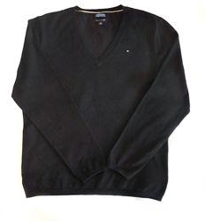 Черный базовый свитер Tommy Hilfiger