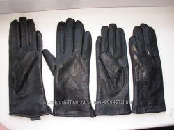 Новые перчатки натур. кожа на меху р. 8, 5 и 6, 5