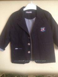 Брендовый пиджак на мальчика 2-3 лет