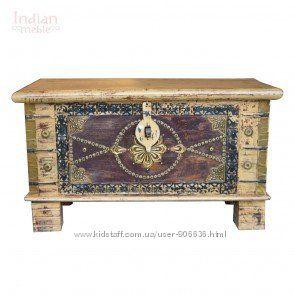 Индийская мебель из красного дерева или дерева тик способна преобразить инт