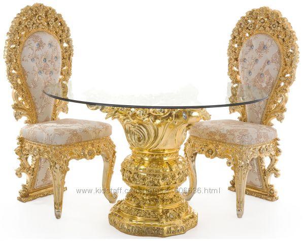 Мебель барокко в золоте в Киеве сдоставкой по Украине.