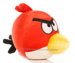 Мягкие игрушки красные Злые Птички Angry Birds Энгри Бердс. В наличии.