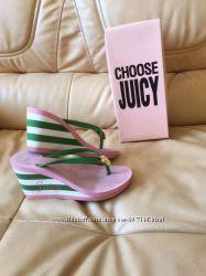 Вьетнамки шлепки Juicy Couture. Размер 36. Джуси.