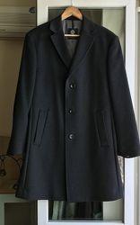 Статусное шерстяное пальто с кашемиром DIGEL, Германия.