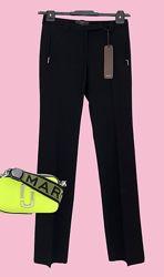 Новые премиум чёрные прямые брюки SEVENTY, Италия.