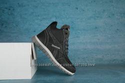 Детские зимние кроссовки Reebook Черныйсерый 10555
