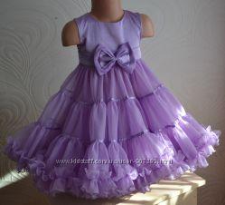 Нарядное пышное платье американка