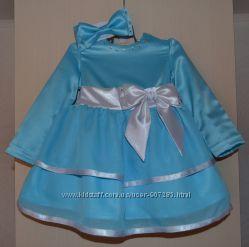 Нежное праздничное  платье на годик и больше