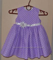 Хлопковые нарядные летние платья