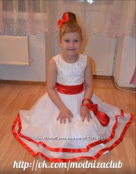 Элегантное платье на праздник, выпускной