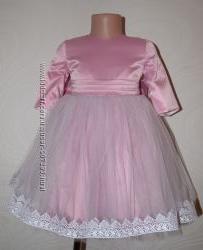 Нарядное платье с рукавчиком