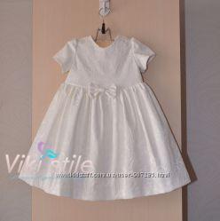 Детское платье из жакарда