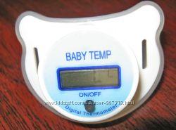 Термометр соска  пустышка электронный градусник