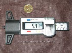 Глубиномер цифровой для измерения глубины протектора, отверстий, пазов