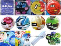 Оригинальные презервативы Америка, Европа