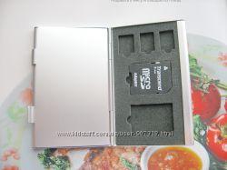 Картхолдер - держатель для карт памяти 2CF2SD3MicroSim  4SD8TF