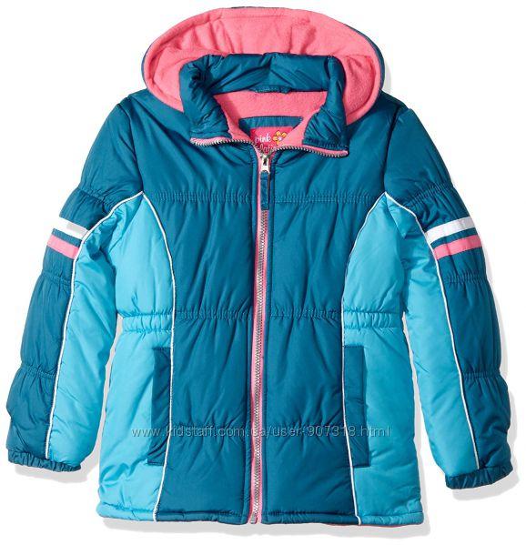 Детская курточка Pink Platinum куртка бирюзовая на девочку. США