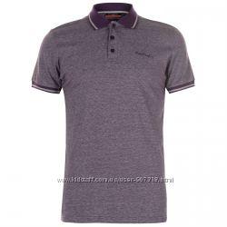 Pierre Cardin футболка рубашка поло в мелкую полоску. Англия. Оригинал.