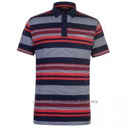 Pierre Cardin футболка рубашка поло в полоску. Англия. Оригинал. Ассортимен