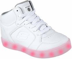 Кроссовки детские со светящейся подошвой Skechers Energy Lights. США оригин