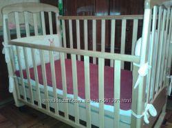 Кроватка детская дерево верес соня лд-9