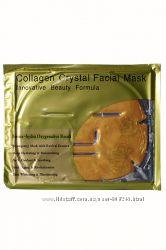 Маска для лица с коллагеном и биозолотом 24К. 24K Active Gold Collagen face
