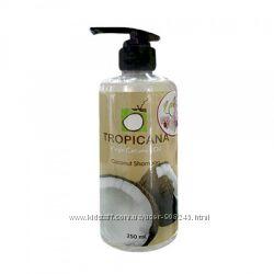 Шампунь Тропикана с экстрактом кокосового масла, миндалём и женьшенем.