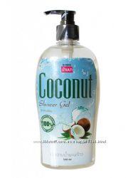 Крем-гель для душа с экстрактом кокоса.