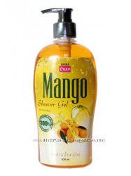 Крем-гель для душа с экстрактом манго.