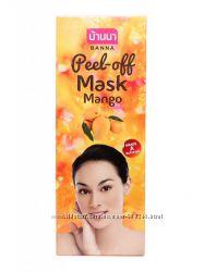 Маска-плёнка для лица с экстрактом манго.